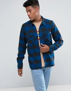 Темно-синяя рубашка в клетку Dickies - Темно-синий
