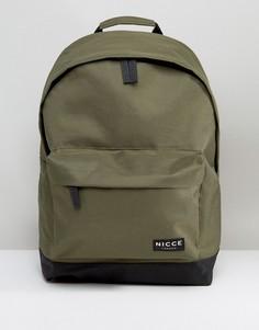 Рюкзак цвета хаки Nicce London - Зеленый