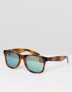 Черепаховые солнцезащитные очки Vans Spicoli 4 V00LC096O - Коричневый
