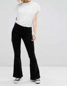 Расклешенные джинсы в стиле ретро Only Royal - Черный