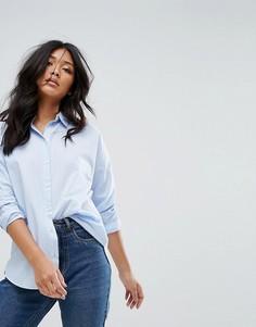 Рубашка в полоску с длинными рукавами JDY - Синий