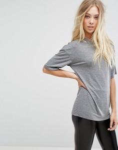 Свободная футболка с вырезами Glamorous - Серый