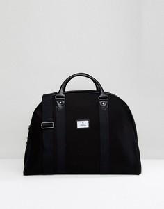 Черная парусиновая сумка ASOS - Черный