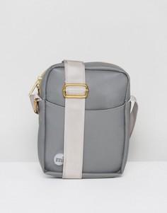 Серая резиновая сумка для путешествий Mi-Pac - Серый