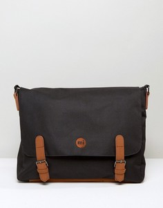 Классический портфель с коричневой отделкой Mi-Pac - Черный