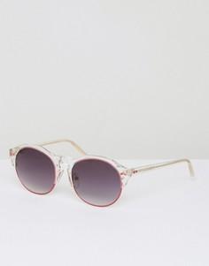 Розовые солнцезащитные очки Matthew Williamson - Красный