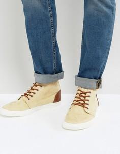 Ботинки из искусственной замши ASOS - Светло-серый