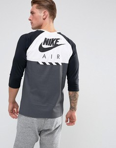 Футболка с рукавами 3/4 Nike 873140-100 - Белый
