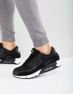 Черные кроссовки Nike Air Max 90 537384-077 - Черный