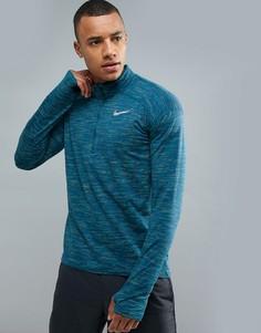 Синий свитшот Nike Running 916452-425 - Синий