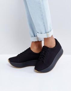 Черные кроссовки на платформе Vagabond Casey - Черный