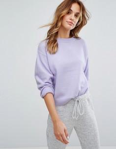 Сиреневый короткий джемпер Micha Lounge - Фиолетовый