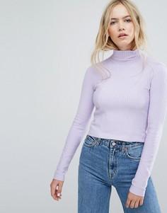 Трикотажный джемпер Weekday Lea - Фиолетовый