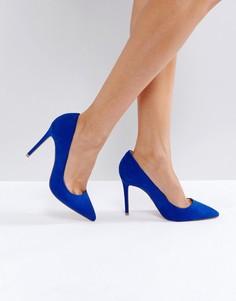 Туфли-лодочки с острым носком Faith Chloe - Синий