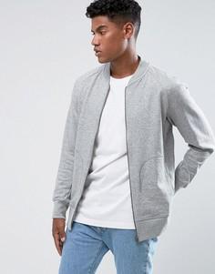 Серая спортивная куртка adidas Originals XbyO BQ3111 - Серый
