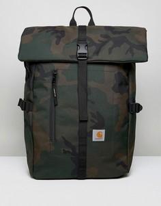 Рюкзак с камуфляжным принтом Carhartt WIP Phil - Зеленый
