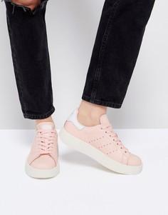 Бледно-розовые кроссовки adidas Stan Smith - Розовый