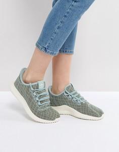 Зеленые кроссовки adidas Tubular Shadow - Зеленый