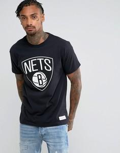 Футболка Mitchell & Ness NBA Brooklyn Nets - Черный