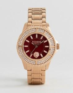 Наручные часы цвета розового золота Versus Versace SH729 Toyko - Золотой