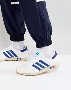 Белые кроссовки adidas Originals LA Trainer BY9319 - Белый