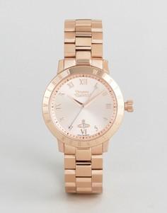 Золотистые наручные часы Vivienne Westwood VV152RSRS - Золотой