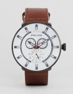 Мужские коричневые часы Police League - Коричневый
