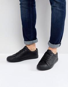 Черные кроссовки из искусственной кожи Jack & Jones Sable - Черный