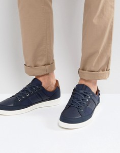 Темно-синие кроссовки из искусственной кожи Jack & Jones Rayne - Темно-синий