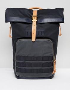 Рюкзак с ролл-топом Fossil - Темно-синий