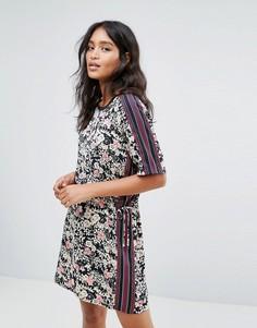 Платье с цветочным принтом Maison Scotch Sily - Мульти
