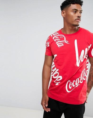 Красная футболка с логотипом Hype x Coca Cola - Красный