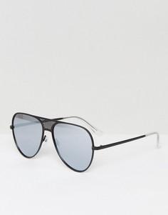 Черные солнцезащитные очки-авиаторы Quay Australia X Kylie Jenner Iconic - Черный