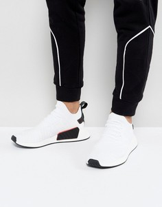 Белые кроссовки adidas Originals NMD R2 Primeknit BY3015 - Черный
