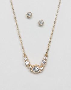 Серьги и ожерелье ALDO - Золотой