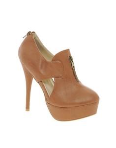 Туфли с вырезами Sugarfree - Коричневый