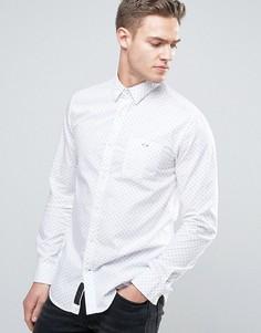 Рубашка в горошек Produkt - Белый