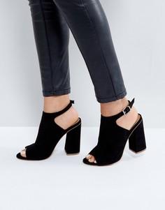 Туфли на каблуке ASOS HEADSHOT - Черный