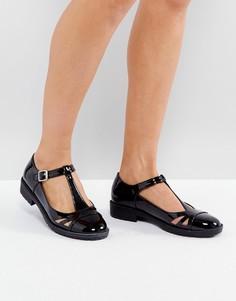Туфли на плоской подошве ASOS MAYBELL - Черный