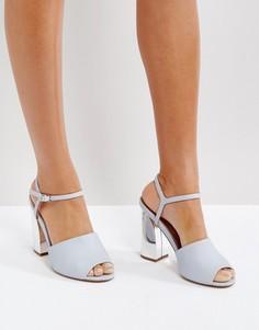 Босоножки на каблуке ASOS HEXA - Серый