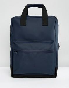 Темно-синий рюкзак Rains - Темно-синий