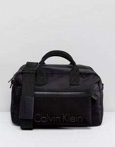 Средняя сумка дафл Calvin Klein Alec - Черный