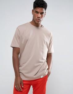 Бежевая футболка с круглым вырезом adidas Originals XbyO CF1129 - Бежевый
