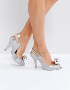 Туфли на каблуке Vivienne Westwood For Melissa - Серебряный