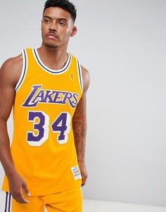 Майка Mitchell & Ness NBA L.A. Lakers Swingman - Черный