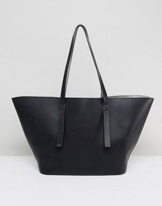 Двусторонняя сумка-шоппер ASOS - Черный