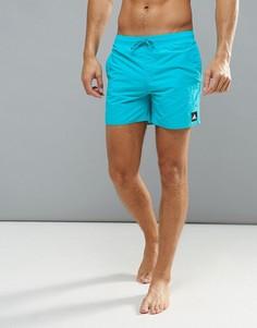 Однотонные шорты для плавания adidas BJ8772 - Синий