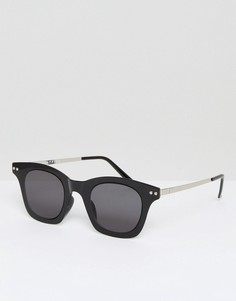 Черные квадратные солнцезащитные очки Spitfire Omnium - Черный