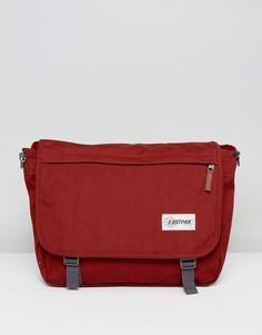 Сумка почтальона рыжего цвета Eastpak Delegate - Черный