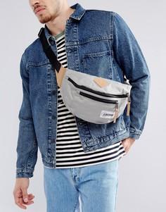 Маленькая серая сумка Eastpak Bundel - Синий